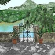 River Oaks Ranch Art Print