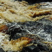 River On The Rocks Art Print