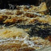 River On The Rocks IIi Art Print