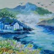 River Point Art Print