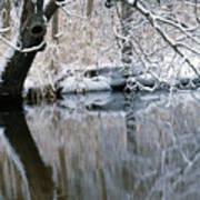 River Reflection 4 Art Print