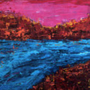 River Run Art Print
