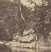 River Scene Art Print