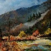 River Semois Art Print
