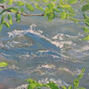 River Spring Art Print