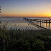 River Sunsrise - Florida Sunrise Scenic Art Print