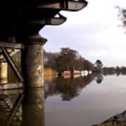 River Thames At Sandford. Art Print