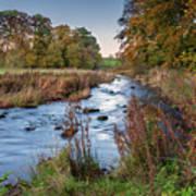 River Wansbeck At Wallington Art Print