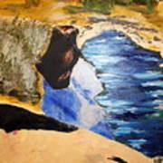 River Watch II Art Print