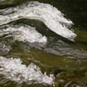 River Waves Art Print