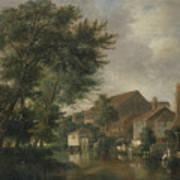 River Wensum, Norwich Art Print
