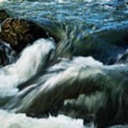 River With Rapids Art Print