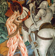 Rivera: Cuernavaca Art Print