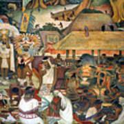 Rivera: Pre-columbian Life Art Print