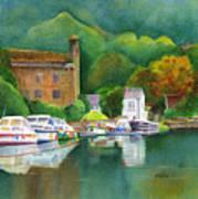 Riverboats Art Print