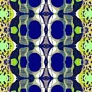 Riverdale Blue Green Art Print