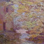 Riverside Colmar France Art Print