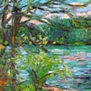 Riverview Spring Stage One Art Print