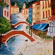 Riverwalk Art Print