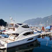 Riviera 53 Yacht Art Print