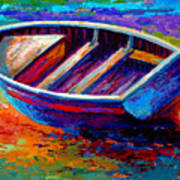 Riviera Boat IIi Art Print