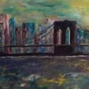 Road From Brooklyn Art Print