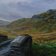 Road Over Donegal Bridge Art Print