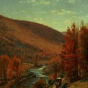 Road Through Belvedere Art Print