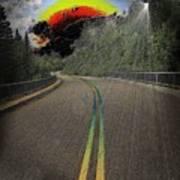 Road To Darkness Art Print
