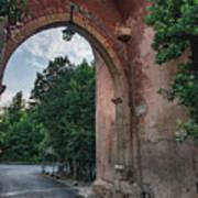 Road To Il Giardino Art Print