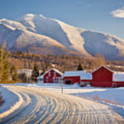 Road To Mount Mansfield Art Print