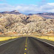 Road To Owl Creek Mountains Wyoming Art Print
