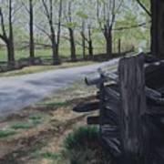 Road To Phillipsville Art Print