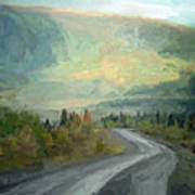 Road To The Sun, Denali Art Print