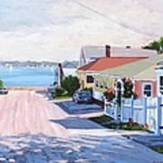 Road To Wessagussett Art Print