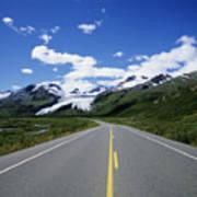 Road To Worthington Glacier Art Print
