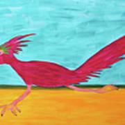 Roadrunner Hunter By Ken Tesoriere Art Print