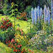 Roadside Garden Art Print