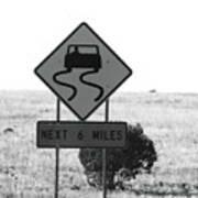 Roadtrip 7 Art Print