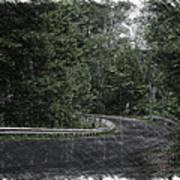 Roadway Fingers Lakes New York Area Pa 02 Art Print