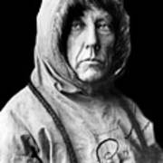 Roald Amundsen, The First Person Art Print