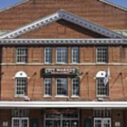 Roanoke City Market Building Art Print