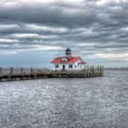 Roanoke Marshes Lighthouse, Manteo, North Carolina Art Print