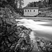 Roanoke River Flow Art Print