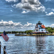 Roanoke River Lighthouse No. 2a Art Print