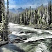 Roaring River Art Print