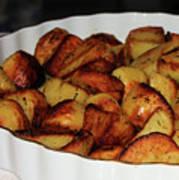 Roasted Potatoes Art Print
