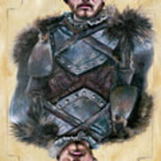 Robb Stark Art Print by Denise H Cooperman