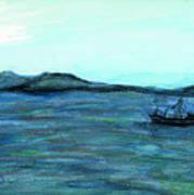 Robbin Island Capetown Bay South Africa Art Print