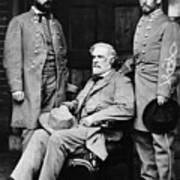 Robert E Lee Art Print